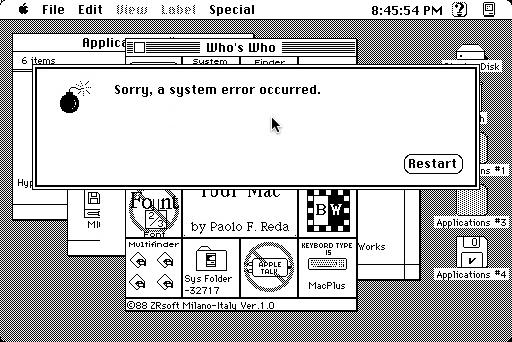 Perdone, ocurrió un error de sistema :-)