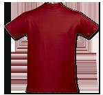 Camiseta Rojo Tango - Tango Red T-Shirt (154)