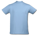 Camiseta Azul Cielo - Sky Blue T-Shirt (220)