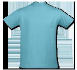 Camiseta Azul Atolón - Atoll Blue T-Shirt (225)