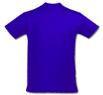 Camiseta Azul Royal - Royal Blue T-Shirt (241)