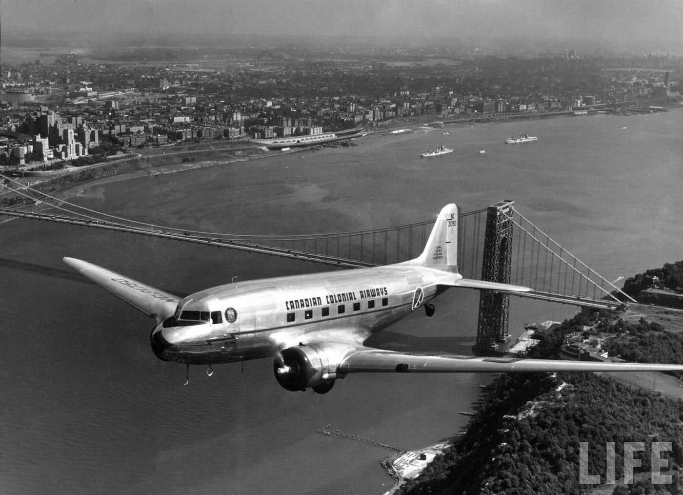 DC2 Canadian Colonial Airways