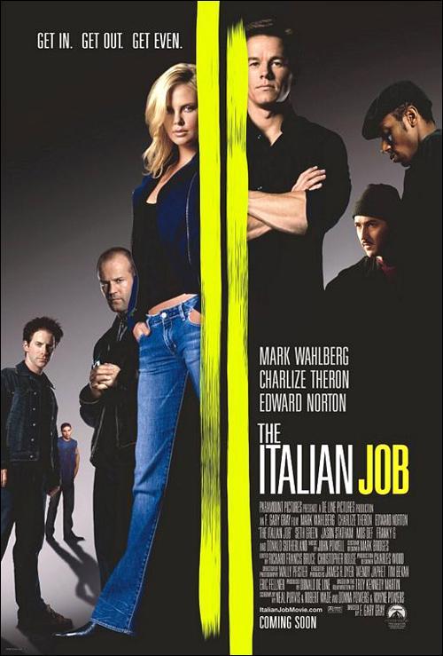 Poster de la película The Italian Job (2003)