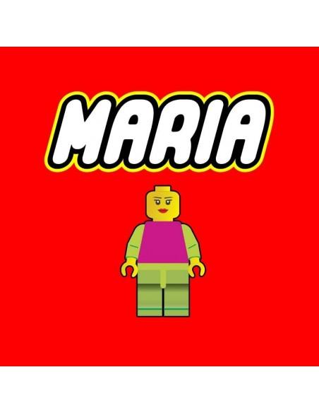 Camiseta personalizable Lego Me