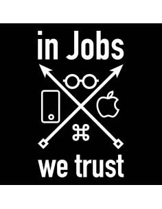 Camiseta In Jobs We Trust