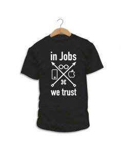 Camiseta In Jobs We Trust