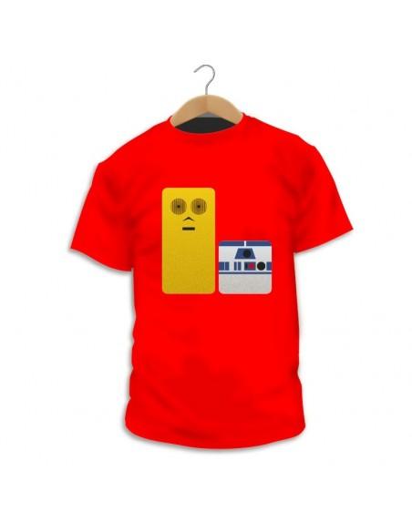 Camiseta C3PO & R2D2