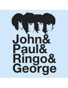 Camiseta John&Paul&George&Ringo