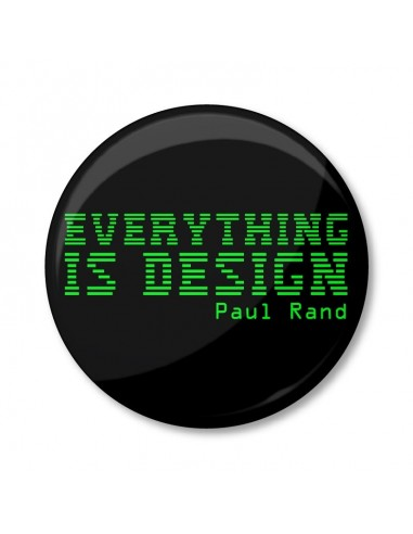 Everything is Design