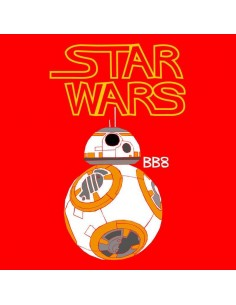 Camiseta Star Wars BB8