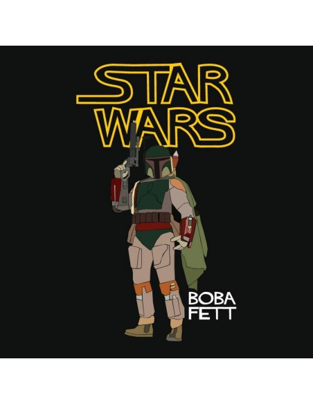 Camiseta Star Wars Boba Fett