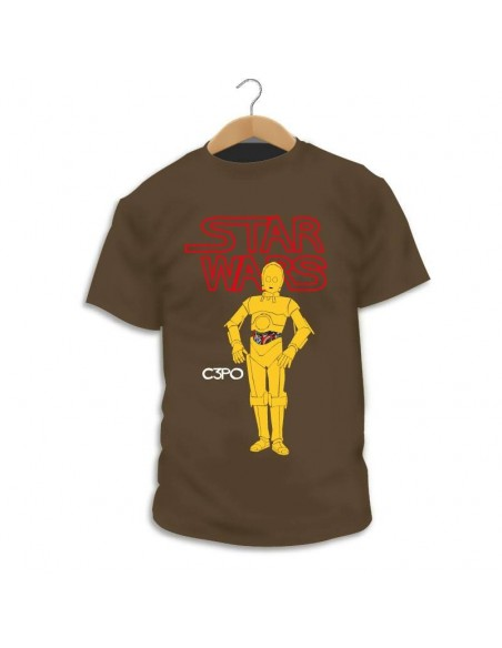 Camiseta Star Wars C3PO