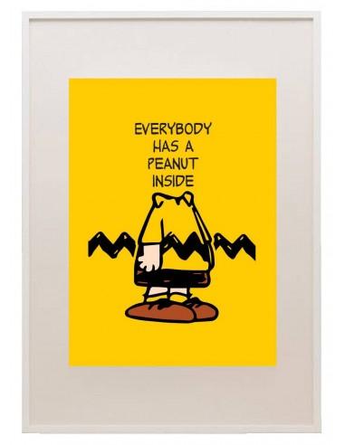 Poster Peanut Inside