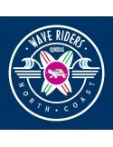 Camiseta QMDS Wave Riders