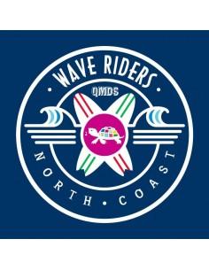 Camiseta QMDS Wave Riders