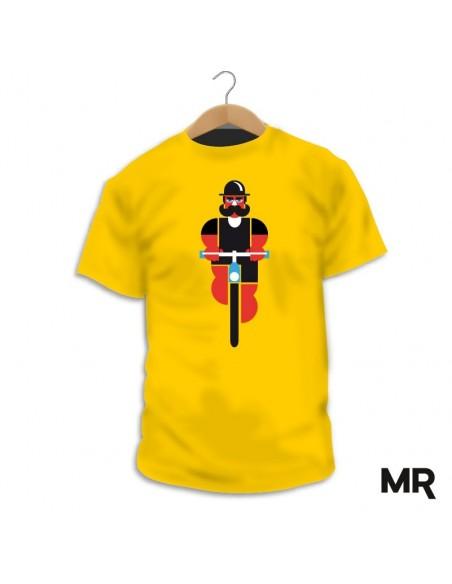 Wheels&Mustache Tshirt