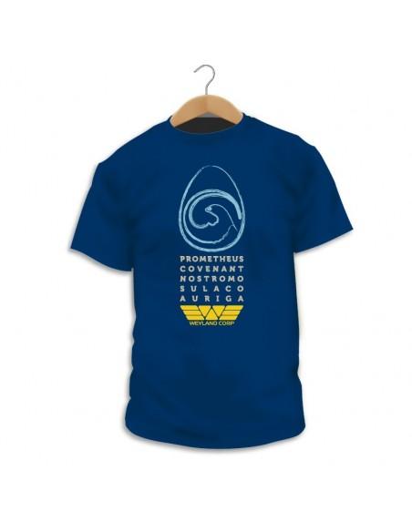 Camiseta Alien Ships