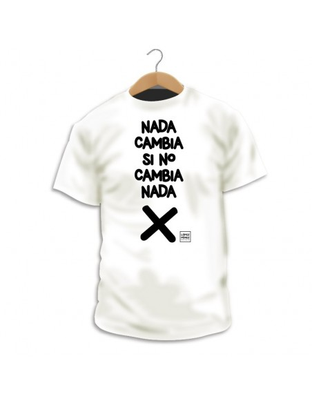 Camiseta Nada Cambia