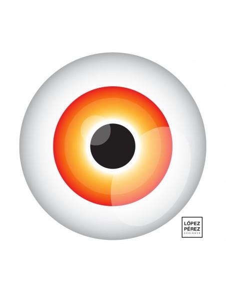 Camiseta Eye Back
