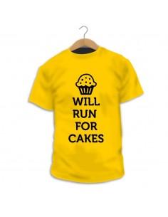 Camiseta Run for Cakes
