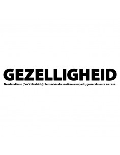 Camiseta Gezelligheid