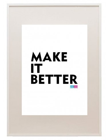 Póster Make It Better