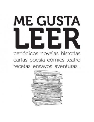 Me gusta leer
