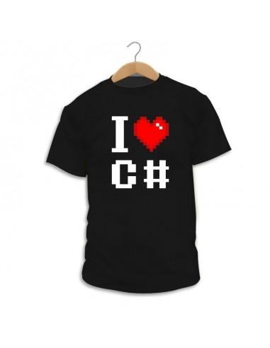 Camiseta I Love C#