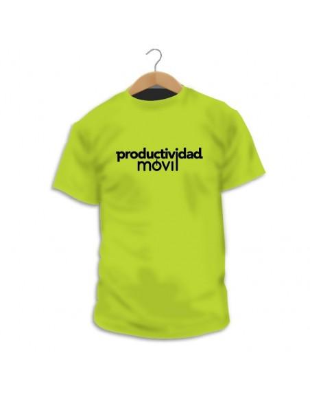 Camiseta podcast Productividad Móvil