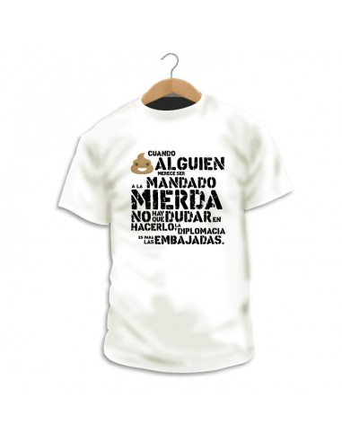 Camiseta A la mierda