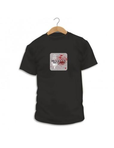 Camiseta Crónica en negro - Magazine Por Momentos