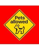 Camiseta Pets Allowed (Dog version)