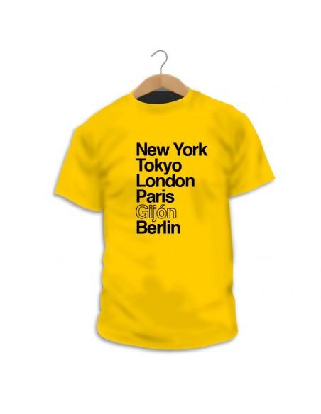 Camiseta personalizable Mi Ciudad