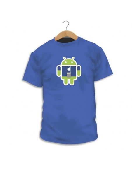 Camiseta Android Apple Crew