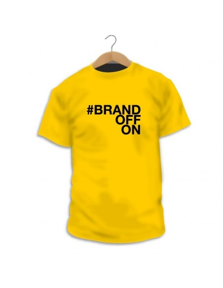 Camiseta #BrandOFFON