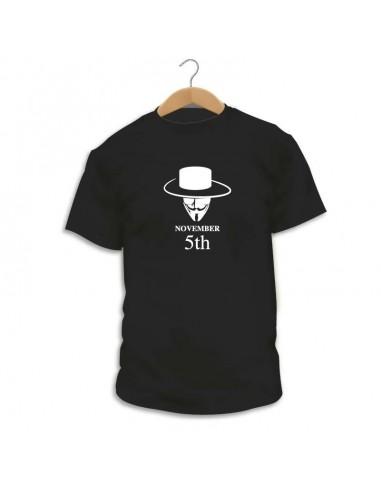 Camiseta November 5th