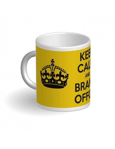Taza Keep Calm and Brand OFF ON