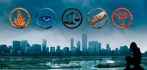 Camiseta Divergent ¿Cuál es tu clan?
