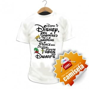 Camiseta Disney: Damn It Disney