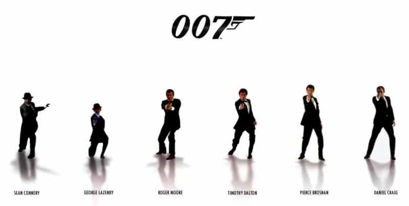 5 camisetas de James Bond (parte I)