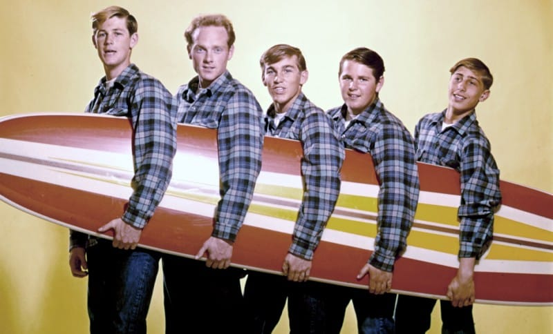5 camisetas de los Beach Boys