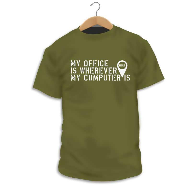 Camiseta trabaja donde quieras