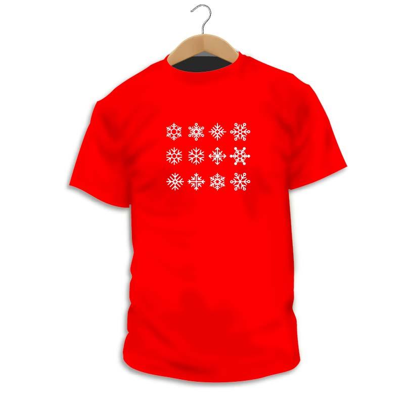 Camiseta Snowflakes