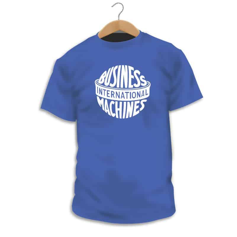 Camiseta IBM Vintage Logo - Singular Shirts