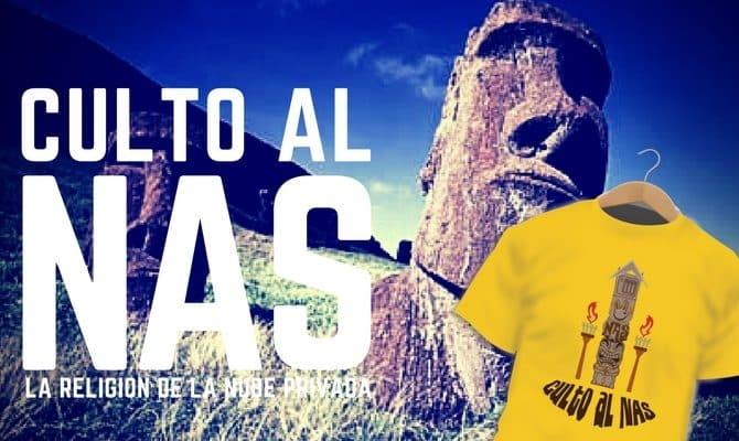 """Camiseta de la religión del """"Culto al NAS"""""""