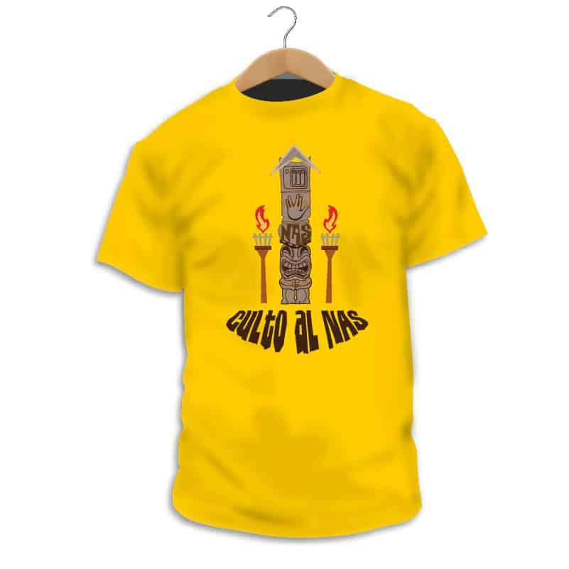 Camiseta Culto al NAS - Singular Shirts