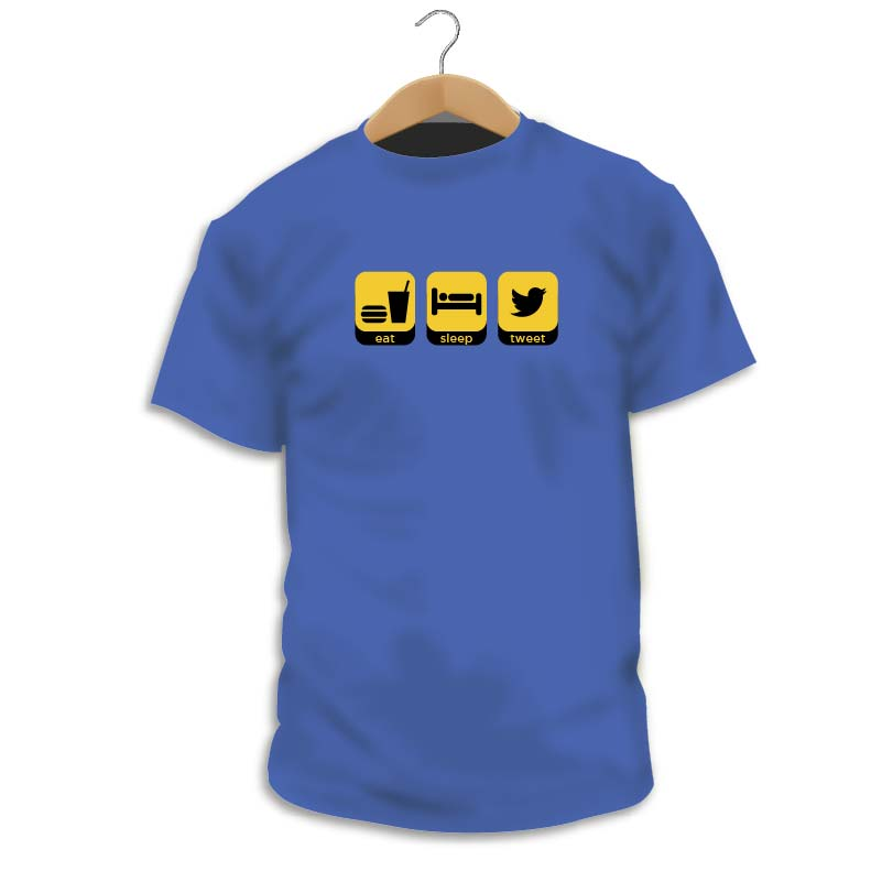 Camiseta Eat, Sleep, Tweet
