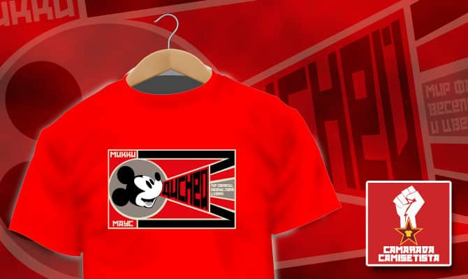 Camiseta Mickey Soviet