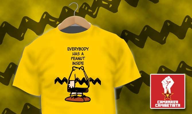 Camiseta Peanuts Inside