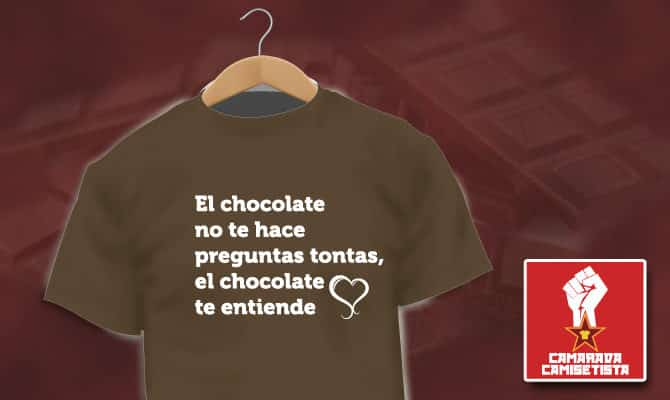 Camiseta Chocolate